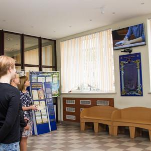 Реклама на мониторах в корпусах университета