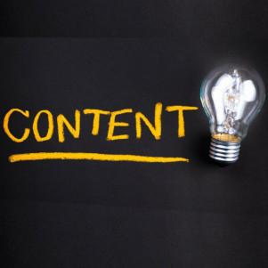Developing content for a social media account