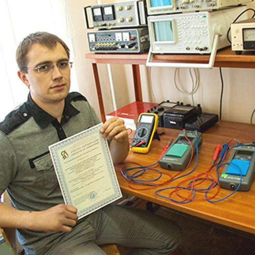 Electrophysical measurements