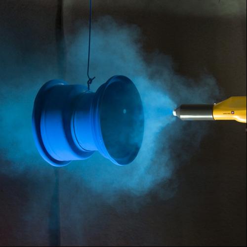 Polymer powder coating