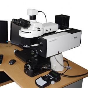 Time-correlated single-photon counting system with picosecond time resolution for a Confotec NR500 3D scanning laser Raman confocal spectrometer