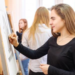 Студия изобразительного искусства при факультете искусств и дизайна (экспресс курс)