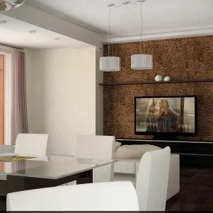 Interior design of apartments, houses, offices and other objects of various purposes