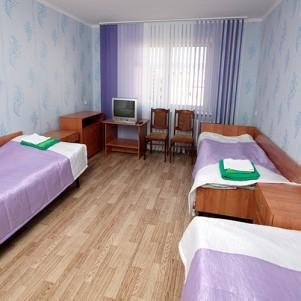1-комнатный трехместный номер