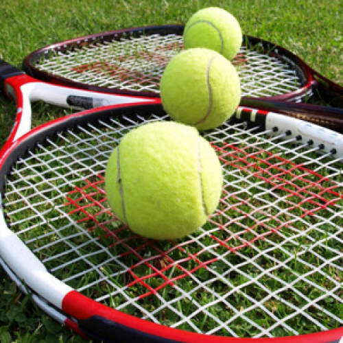 Big tennis (pair session)