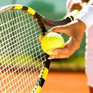 Теннис на кортах (парное занятие)