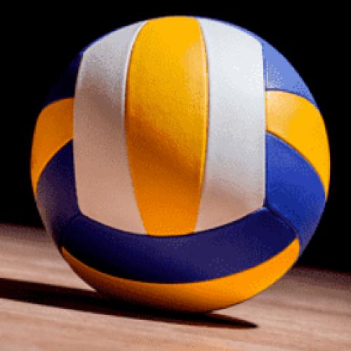 Волейбол в игровом зале для детей до 14 лет
