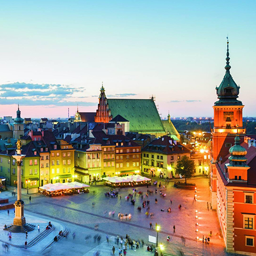 Warsaw-Berlin-Potsdam (4 days)