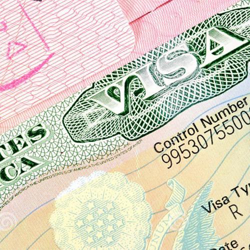 Online registration of visa application forms (one form)