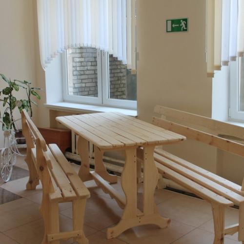 Комплект: стол + 2 скамейки или (+скамейка + 3 стула)